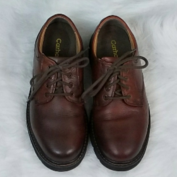 Mens Carhartt Brown Leather Oxford Work